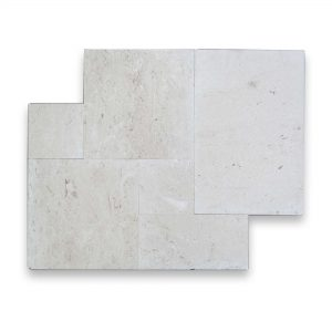 Shell Beige French Pattern Limestone Tile 12 Shell beige French Pattern Tile Product Pic
