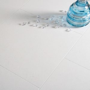 Home 29 Limra Limestone Tile Floor with glass jobside pic