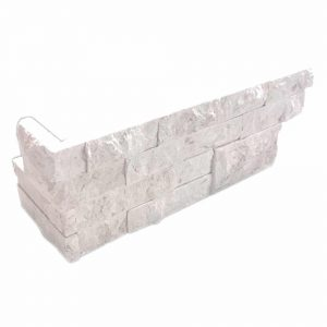 Shell Beige Splitface Ledger Corner 9 Shell Beige Split Face Limestone Ledger Corner Product Pic