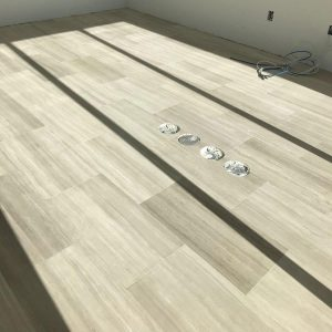 White Wood 21 White Wood Limestone Indoor Floor Application