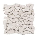 Shell Beige Hexagon Limestone Mosaic 1 shell beige pebble limestone mosaic tile product pic
