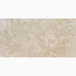 "Ivory 12""x24"" Travertine Paver 7 12x24 Ivory Premium Select Tumbled Travertine Paver"