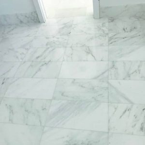 Bianco Ibiza 16 Bianco Ibiza 12x24 Tile floor Jobside pic