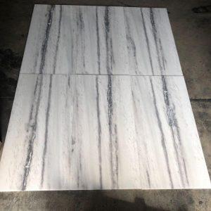 Bianco Vena 7 Bianco Vena 12x24 Marble Tile closeby Pic