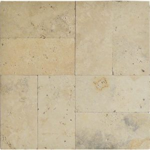 "Country Classic 6""x12"" Travertine Paver 10 Country Classic 6x12 Paver Product Picture"