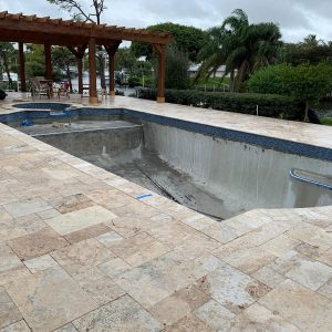 Country Classic 8 Country Classic French Pattern Paver Pool Area Design Pic
