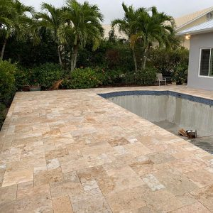 Country Classic 12 Country Classic French Pattern Paver Poolside Porject Picture