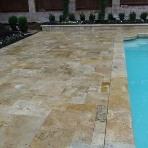 Country Classic 10 Country Classic French Pattern Paver Poolside Project Pic