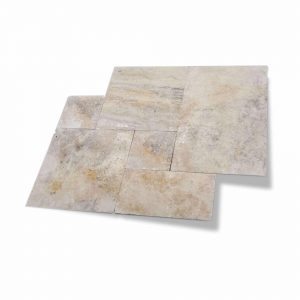 Country Classic French Pattern Travertine Paver 3 Country Classic French Pattern Paver Product Picture