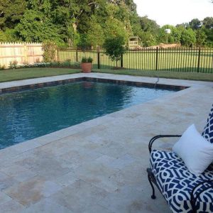 Country Classic 9 Country Classic French Pattern Paver pool Project