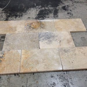 Country Classic 14 Country Classic Travertine Paver 16x24 from Crates
