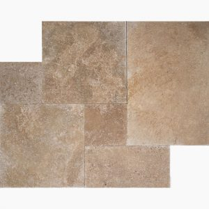 Noce French Pattern Travertine Tile 6 French Pattern Noce Royal Premium Select Tumbled Travertine Paver