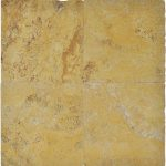 """Gold 16""""x16"""" Travertine Paver 2 Gold 16x16 Travertine Paver Product Pic"""