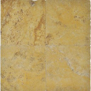 "Gold 16""x16"" Travertine Paver 3 Gold 16x16 Travertine Paver Product Pic"
