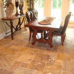 Gold-French-Pattern-Travertine-Tile-Floor-Indoor-Design-Project-Pic