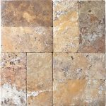 "Gold 6""x12"" Travertine Paver 2 Gold Travertine 6x12 Paver Product pic"