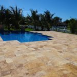 Gold-Travertine-French-Pattern-Paver-Pool-Area-Project-Pic