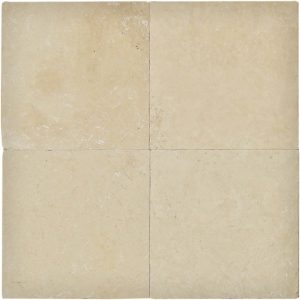 "Ivory 16""x16"" Travertine Paver 10 Ivory 16x16 Travertine Paver Product Pic"