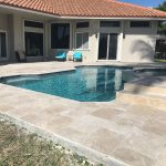 Ivory-16×24-Travertine-Paver-Pool-area-Jobside-Pic