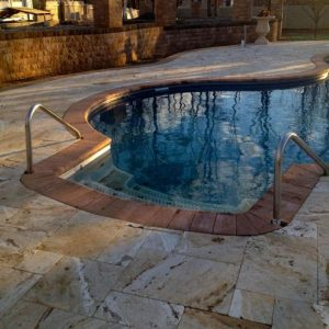Leonardo 4 Leonardo French Pattern Paver Poolside Project Pic