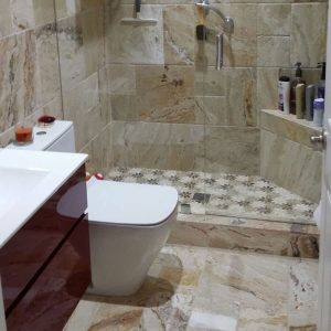 Leonardo 10 Leonardo French Pattern Tile Bathroom Wall Floor Project Pic