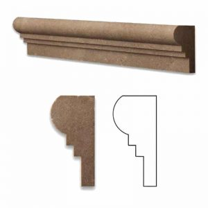 Noche Double Ogee Travertine Molding 6 Noche Double Ogee Product Pic