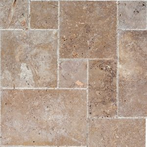 Noche French Pattern Travertine Tile 4 Noche French Pattern Travertine Tile Product Pic