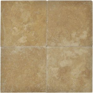 "Noche 16""x16"" Travertine Paver 5 Noche Paver 16x16 Travertine Product Pic"