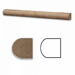 Noche Pencil Travertine Molding 7 Noche Travertine Pencil Product Pic
