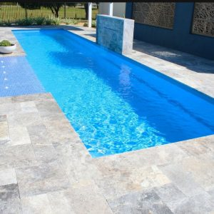 Silver 34 Silver French Pattern Paver Poolside Project Pic