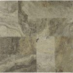 "Silver 6""x12"" Travertine Paver 1 Silver Travertine 6x12 Paver Product Pic"