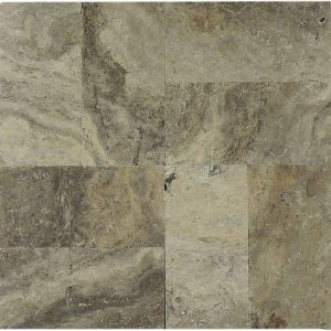 "Silver 6""x12"" Travertine Paver 6 Silver Travertine 6x12 Paver Product Pic"