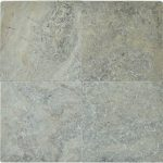 "Silver 16""x16"" Travertine Paver 1 Silver Travertine Paver 16x16 Product Pic"