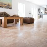 Travertine-Ivory-French-Pattern-Tile-Floor-Jobside-Pic
