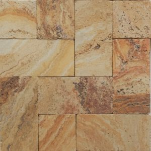 "Autumn Blend 6""x12"" Travertine Paver 8 Valencia Paver 6x12 Travertine product Pic"