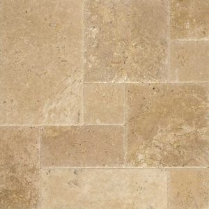 Walnut French Pattern Travertine Tile 1 Walnut French Pattern Tile Product Pic