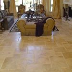 Walnut-French-pattern-Tile-Floor-Design-Pic
