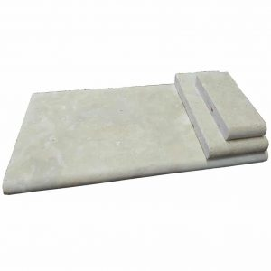 "Ivory 12""x24"" Bullnose Pool Coping 17 ivory bullnose pool coping product pic"