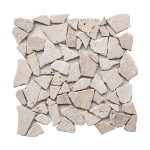 Ivory Strip Bar Travertine Mosaic 1 ivory pebble travertine mosaic tile product pic