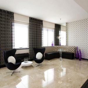 Cappuccino 4 Cappucino Marble Tile Floor Livingroom Design project Pic