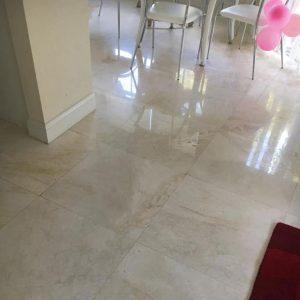 Desert Pearl 4 Desert Pearl marble Tile Jobside Floor Picture
