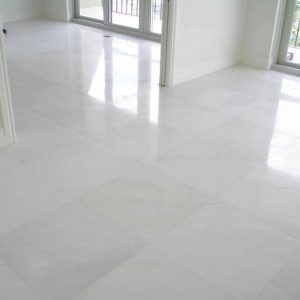 Diamond White 7 Diamond White Polished 24x24 Marble Tile Floor Jobside
