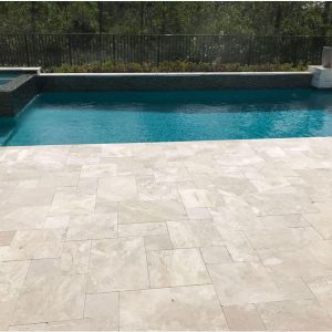 Fantastic Royal 24 Fantastic Royal French Pattern Paver Poolside Project Pic