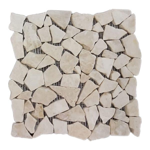 Fantastic Royal Pebble Marble Mosaic - LW Stone