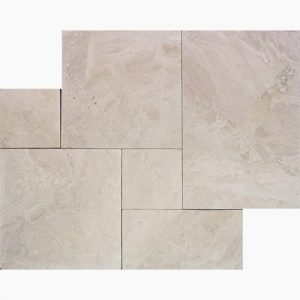 Diana Royal French Pattern Marble Paver 16 French Pattern Diana Royal Premium Select Leather Marble Paver