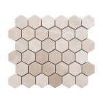 Botticino Hexagon Marble Mosaic 2 bottichino hexagon marble mosaic tile Product Pic