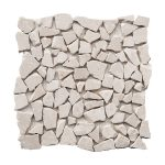 Botticino Pebble Marble Mosaic 1 bottichino pebble marble mosaic tile Product Pic