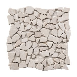 Botticino Pebble Marble Mosaic 6 bottichino pebble marble mosaic tile Product Pic