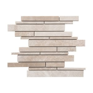 Botticino Strip Bar Marble Mosaic 7 bottichino strip bar marble mosaic tile Product Pic