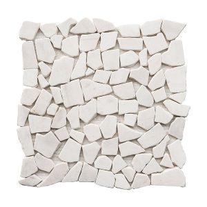 Dolomite Pebble Marble Mosaic 3 dolomite pebble marble mosaic tile Product Pic